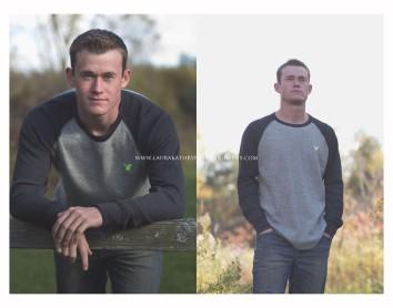 senior portrait male photography